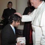 Ha recibido la bendición varias veces del Papa Francisco