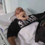 César Peña sufrió una lesión en la cervical