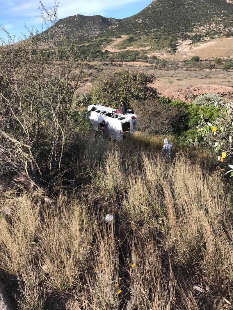 El vehículo quedó en medio de la nada