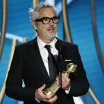 Alfonso Cuarón se llevó dos estatuillas, a Mejor Película Extranjera y Mejor Director