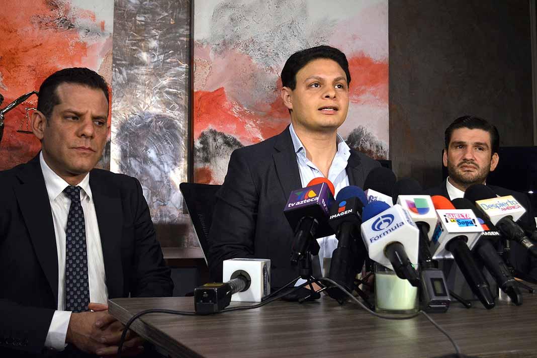Giovanni Medina en varias ocasiones arremetió junto a sus abogados en contra de Ninel