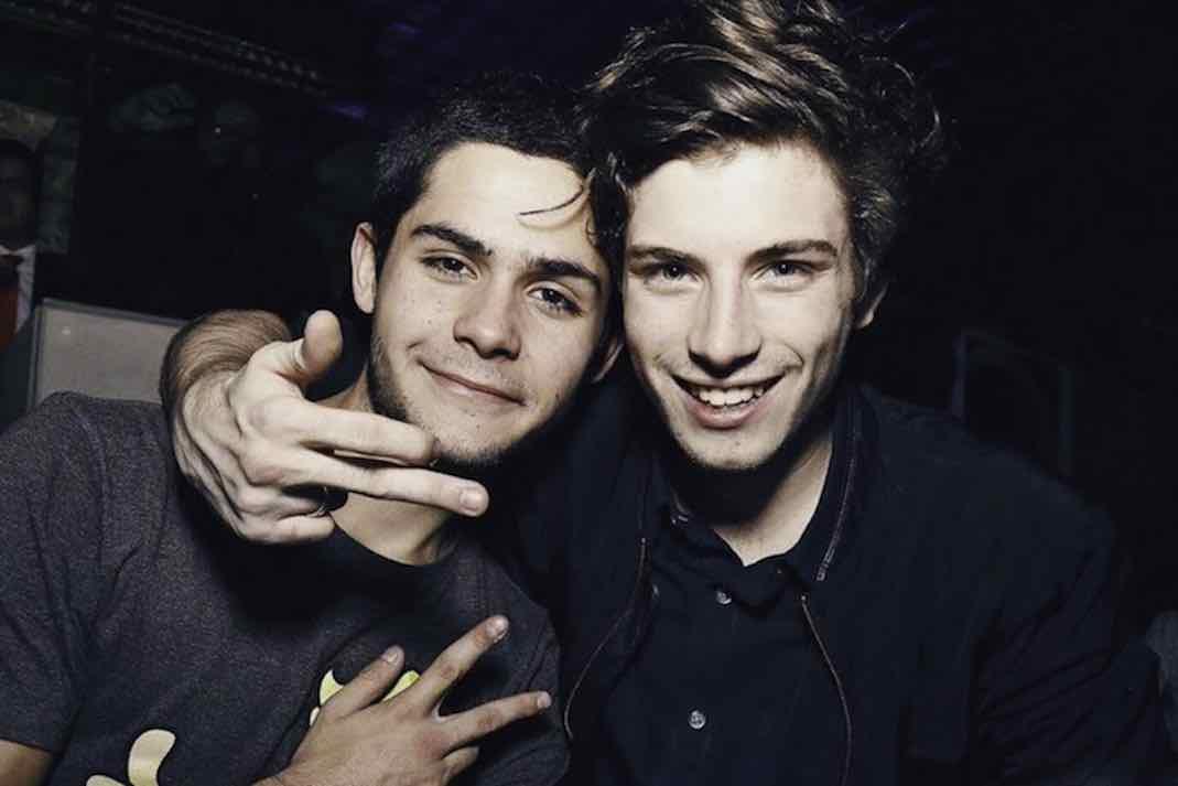 Nicolás (derecha) es muy amiguero
