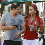 La revista TVnotas México captó a Ninel y a Giovanni muy juntitos y del brazo