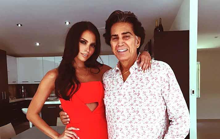 Para nadie es un secreto que El Puma sólo tiene ojos para su hija menor Génesis Rodríguez