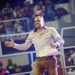 Hugo Figueroa desde hace años tiene un espectáculo de jaripeo