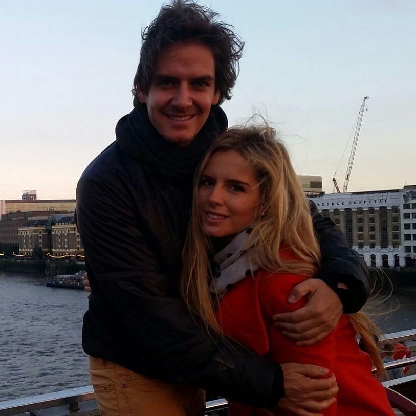 Tania y su ex Bobby Domínguez, considerado por la revista Quién uno de los empresarios mexicanos jóvenes más guapos