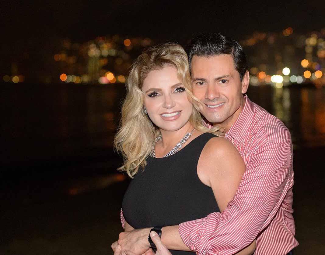 Siempre hubo dudas sobre la pareja de Angélica Rivero y Enrique Peña Nieto