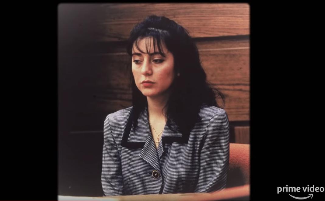 Lorena Bobbit durante el juicio en 1993