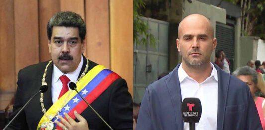 Maduro lo volvió a hacer, esta vez mandó secuestrar a Daniel Garrido, reportero de Telemundo