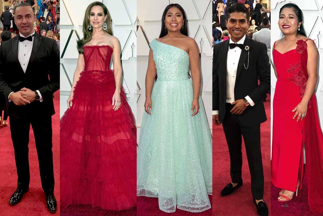 Estos 5 mexicanos no imaginaron cruzar algún día la alfombra roja de los Oscars