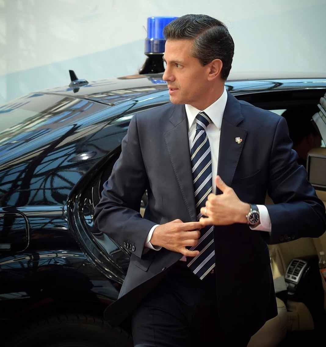 El ex de la modelo dijo que la propia Tania le confirmó que estaba saliendo con Peña Nieto