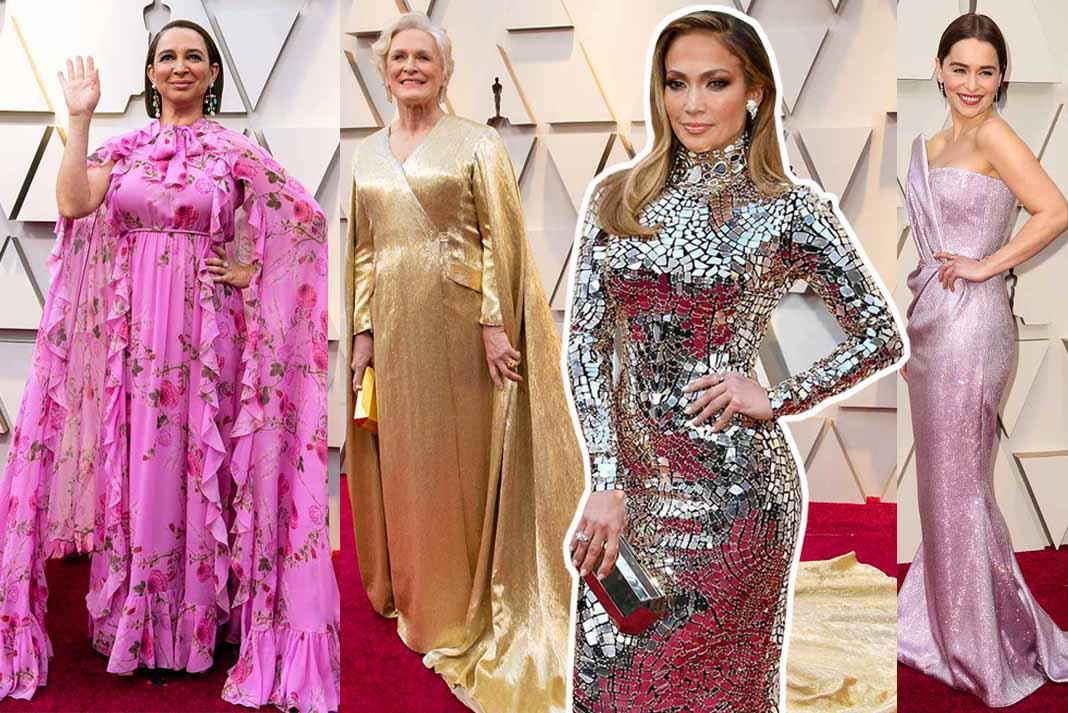 ¿Qué les parecieron los modelos de la alfombra de los Oscars?