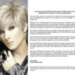 Este es el comunicado de prensa que envió la familia Zurita-Bach