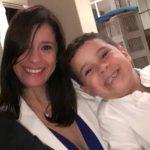 Margiolis ha criado sola a su hijo desde que nació hace 10 años