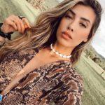 Michelle Salas sigue ajena al pleito, sin responderle directamente a Frida