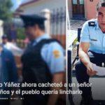 Eduardo Yáñez cacheteó a un señor de 60 años