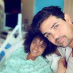 Ferdinando y Brenda estuvieron documentando y compartiendo su odisea en el hospital
