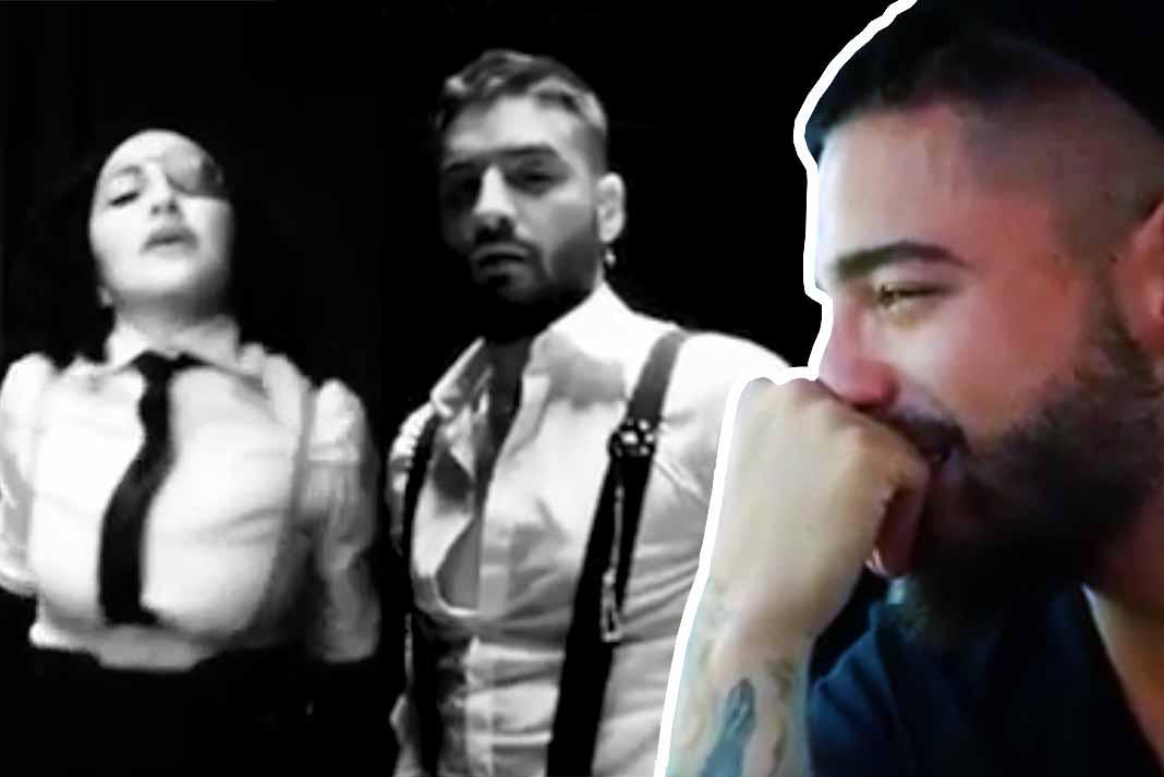 Si Maluma lloró cuando escuchó la canción, ¿qué haría cuando vio el video?