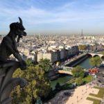 Las gárgolas, bestias fantásticos que cuidaban desde el techo de la catedral que los demonios no se acercaran