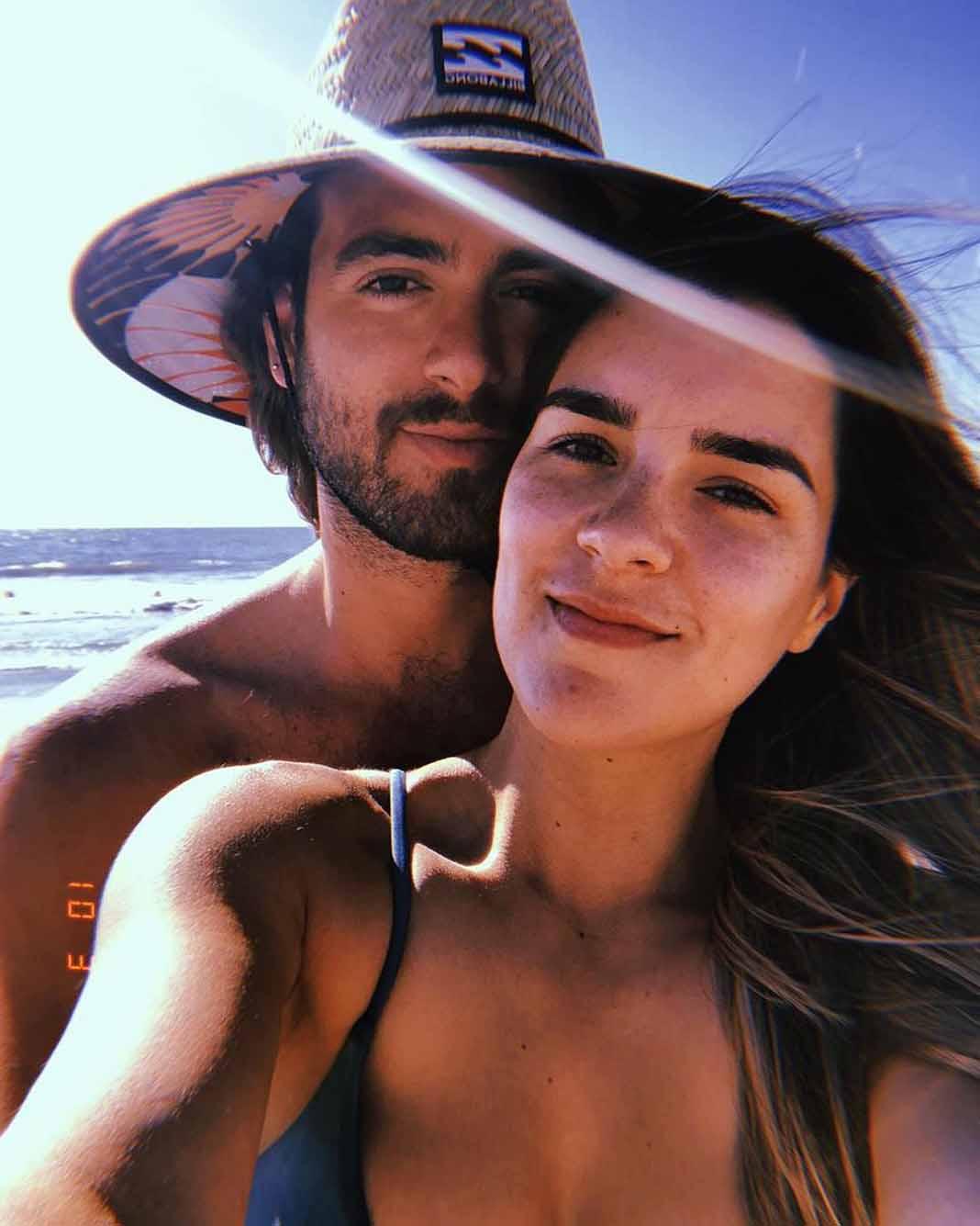 Pablo acababa de pasar unos días en Miami con su esposa Ana Araujo y sus hijos Arantza y Mauro