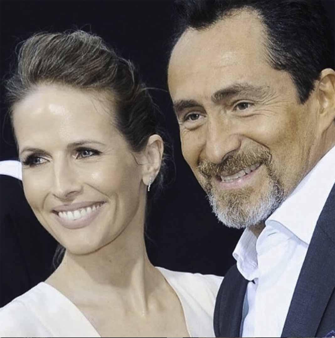 Demián compartió el miércoles que su esposa había fallecido en paz el 20 de abril