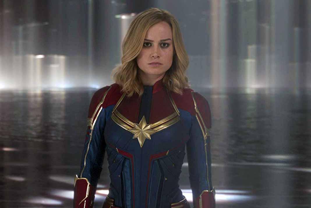 La Captain Marvel es la más buscada en el sitio pornográfico