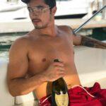 Christian Estrada, el ex de Frida, es modelo y es de origen mexicano