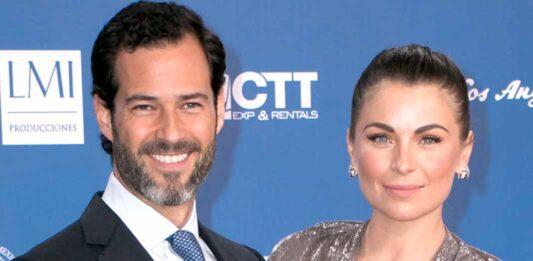 Emiliano Salinas y Ludwika Paleta se casaron en 2013 y tienen unos gemelos