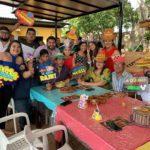 Amigos y familiares de doña María Isidra fueron a celebrarla
