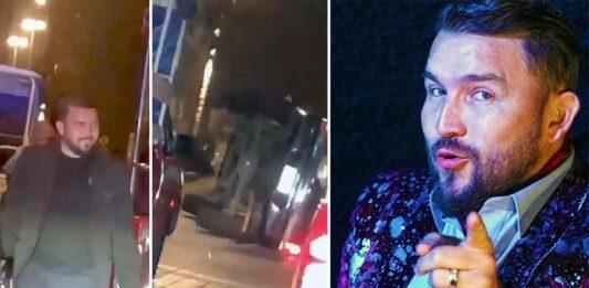 Sin pensarlo dos veces, Poncho se bajó de su camioneta para ayudar en el accidente