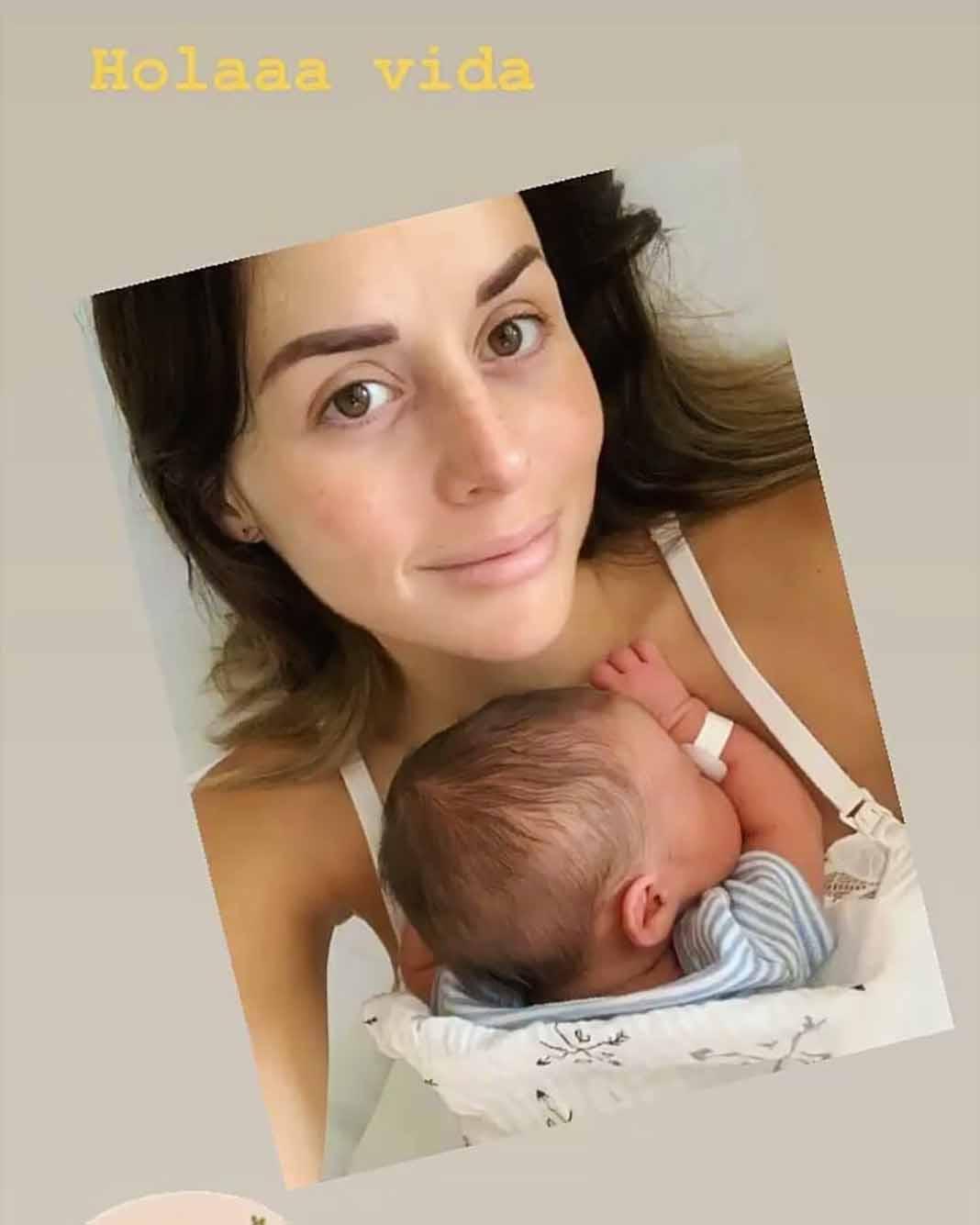 """La protagonista de """"Mi Marido Tiene Familia"""" quiso tener a este segundo bebé por parto natural"""