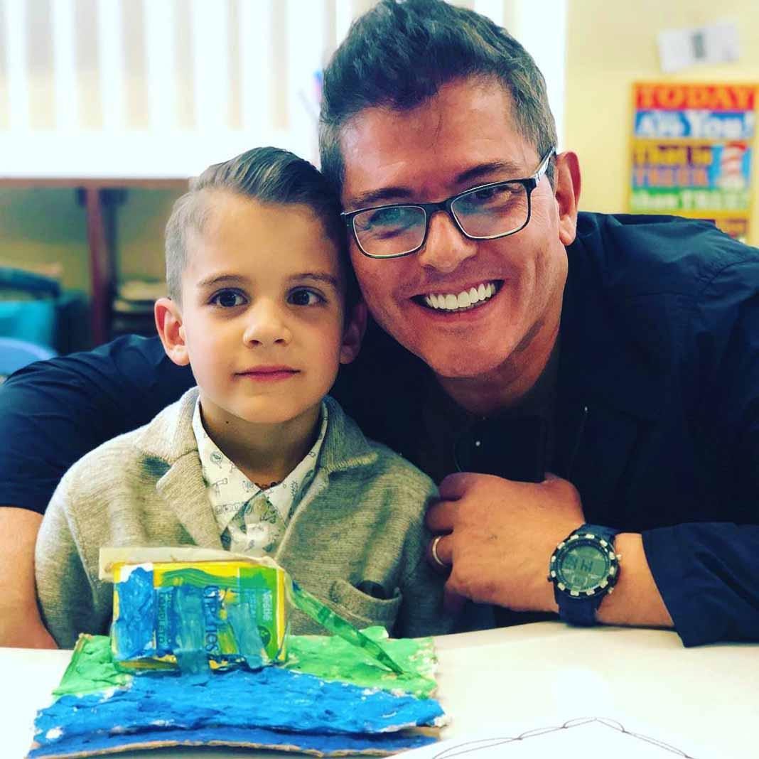 Ernesto dice que aunque su hijo Emiliano quiera ser soldado, y le parezca un oficio peligroso, lo apoyará