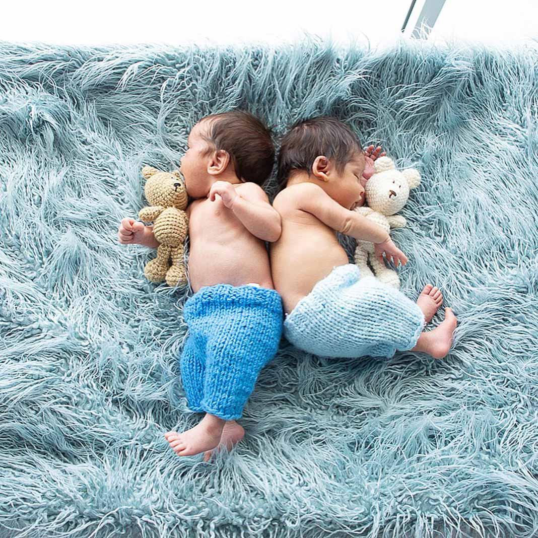 Primero Dios, los bebés pronto estarán de nuevo juntos,