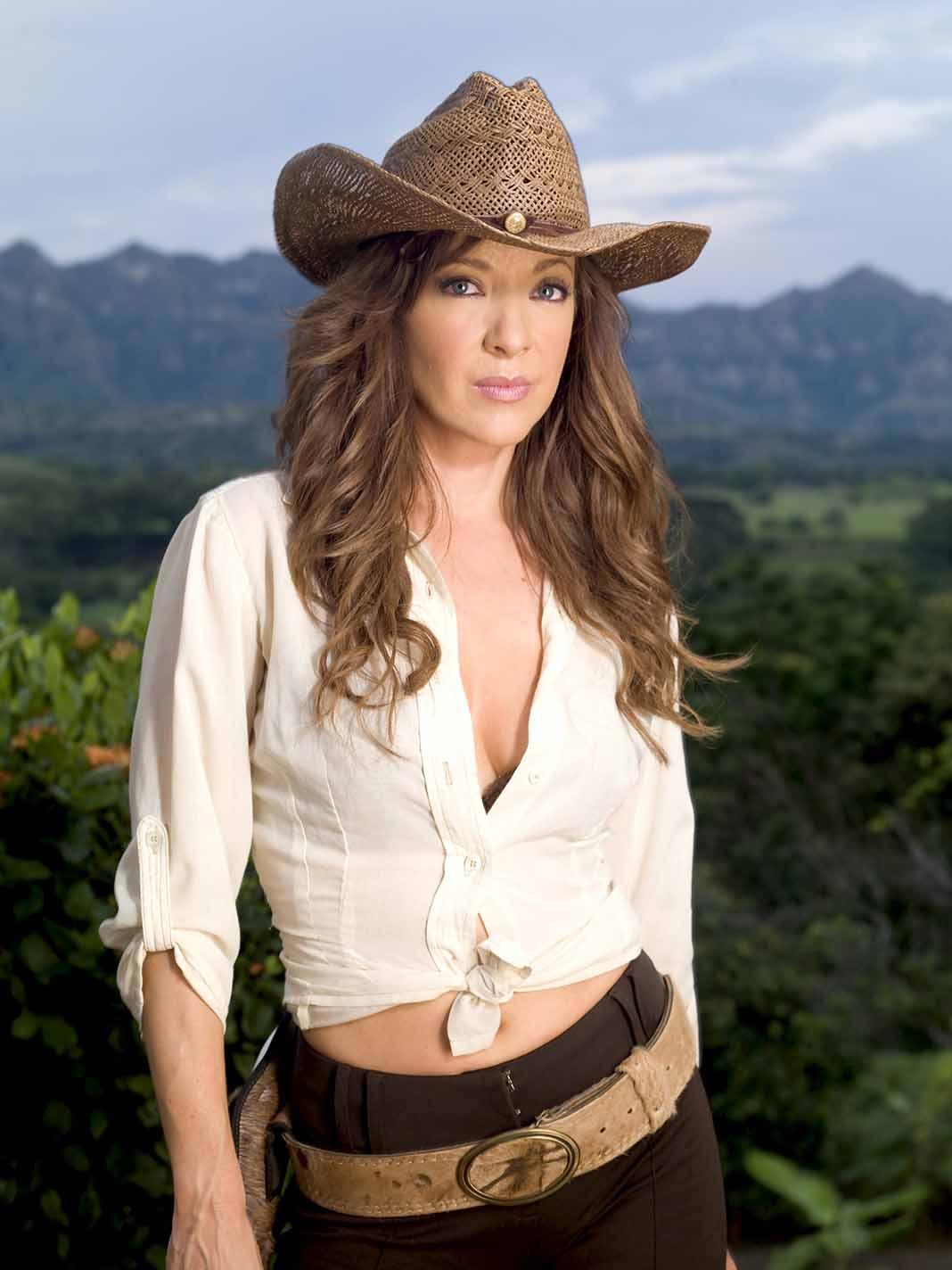 """Edith personificó a """"Doña Bárbara"""" en la recordada telenovela de Telemundo"""