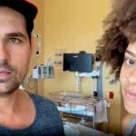 La pareja compartió un video explicando a sus seguidores el motivo de su ausencia en las redes