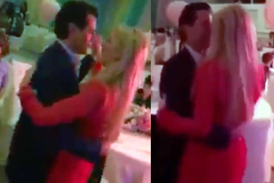Enrique Peña Nieto fue captado en una fiesta bailando al ritmo de Los Ángeles Azules