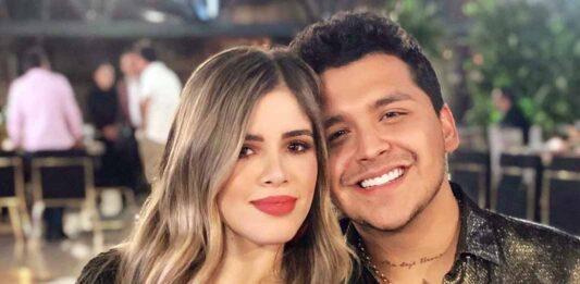 El cantante está feliz con su guapa novia