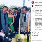 La más reciente aparición de Collado fue en la boda de su media hermana, al lado de Enrique Peña Nieto, su novia Tania, Julio Iglesias y su esposa Miranda
