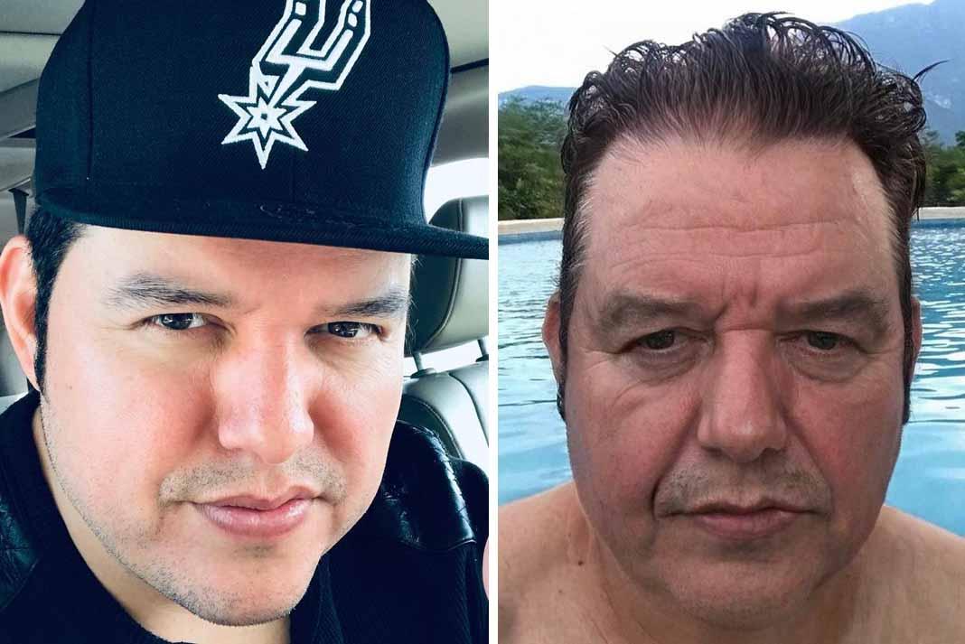 """Lalo Mora Jr. de Los Herederos de Nuevo León dijo: """"Me tardé mucho en la alberca"""". Fotos: Instagram / lalomorajr_elheredero"""