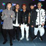 Christopher, Erick, Richard, Joel y Zabdiel, de CNCO