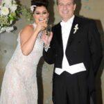 Yadhira Carrillo se casó con el abogado JUan Collado en 2012