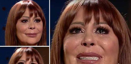 Alejandra Guzmán lloró en varias ocasiones durante la entrevista
