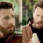 En el comercial, el actor habla en su mayoría en inglés y se sorprende al probar la leche mexicana