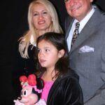 Jose José, su esposa Sara y su hija Sarita, hace algunos años
