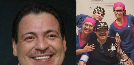El cantante espera la llegada de un donador para suplir el riñón que necesita