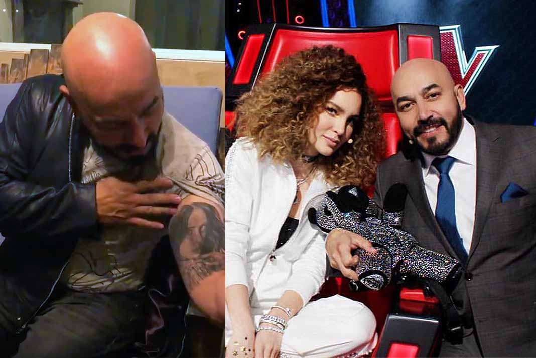 Lupillo se tatuó su rostro luego de conocerla en La Voz México