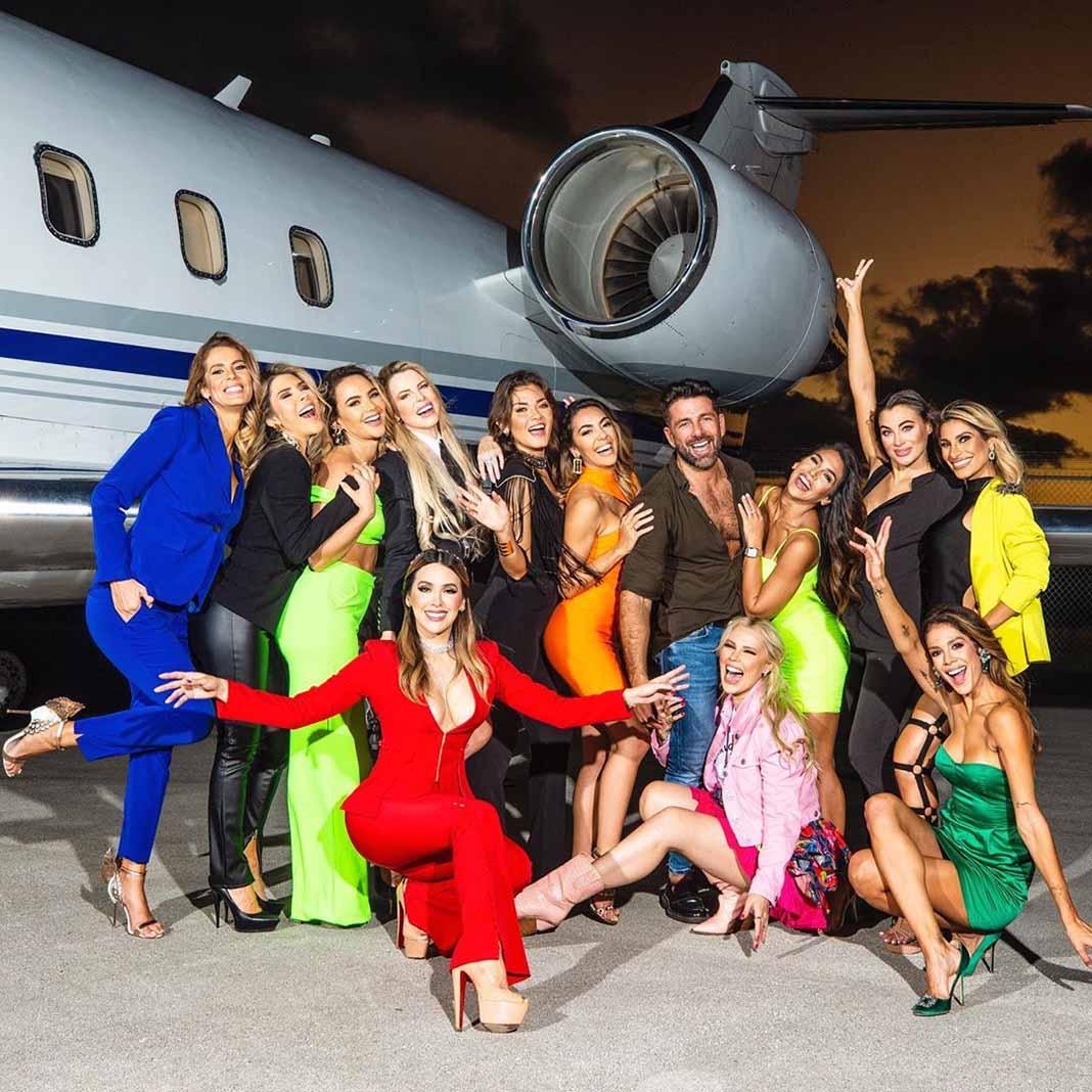Geraldine ya se encuentra grabando el reality show en Miami