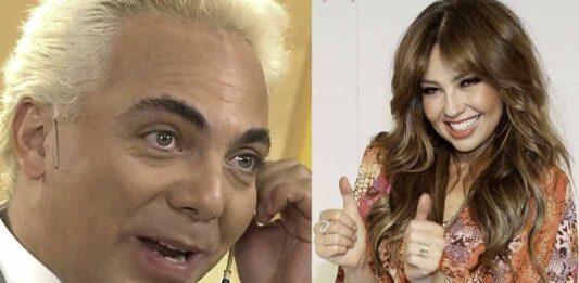 Cristian Castro afirma que tuvo un breve romance con Thalía