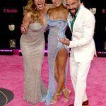 Lili, Alejandra y Ricky Martin
