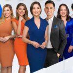 El que está adelantito de Adamari es Nacho Lozano, el titular del show que no estuvo físicamente en el debut, sino vía satélite